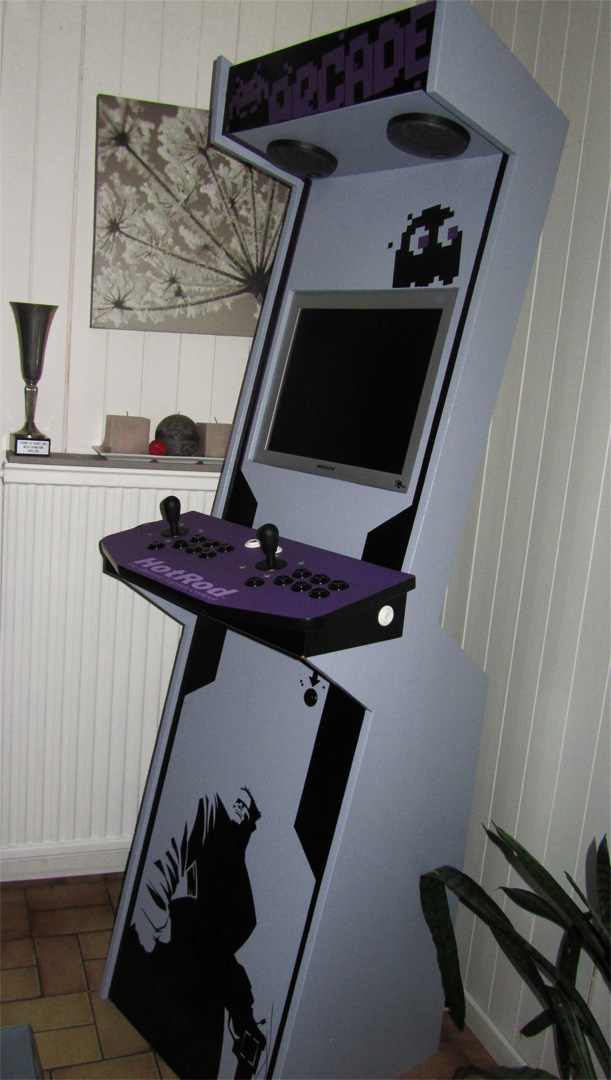 borne arcade de salon